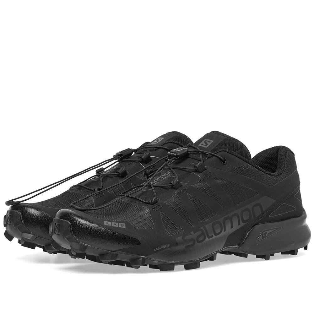 サロモン Salomon メンズ スニーカー シューズ・靴【s/lab speedcross black ltd】Black/Black Autobahn