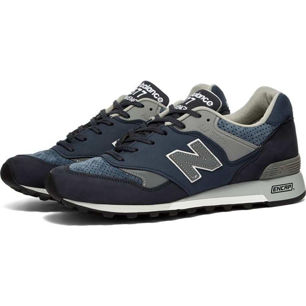 ニューバランス New Balance メンズ スニーカー シューズ・靴【M577NVT - Made in England 'Bluesman'】Blue