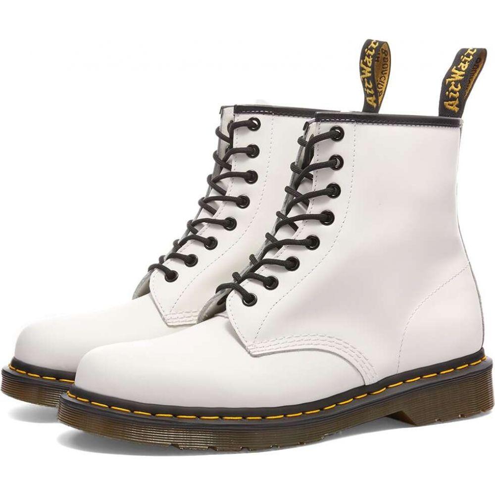 ついに入荷 ドクターマーチン メンズ シューズ 新着セール 靴 ブーツ White Smooth サイズ交換無料 Boot 1460 Dr Dr. Pascal Leather Martens