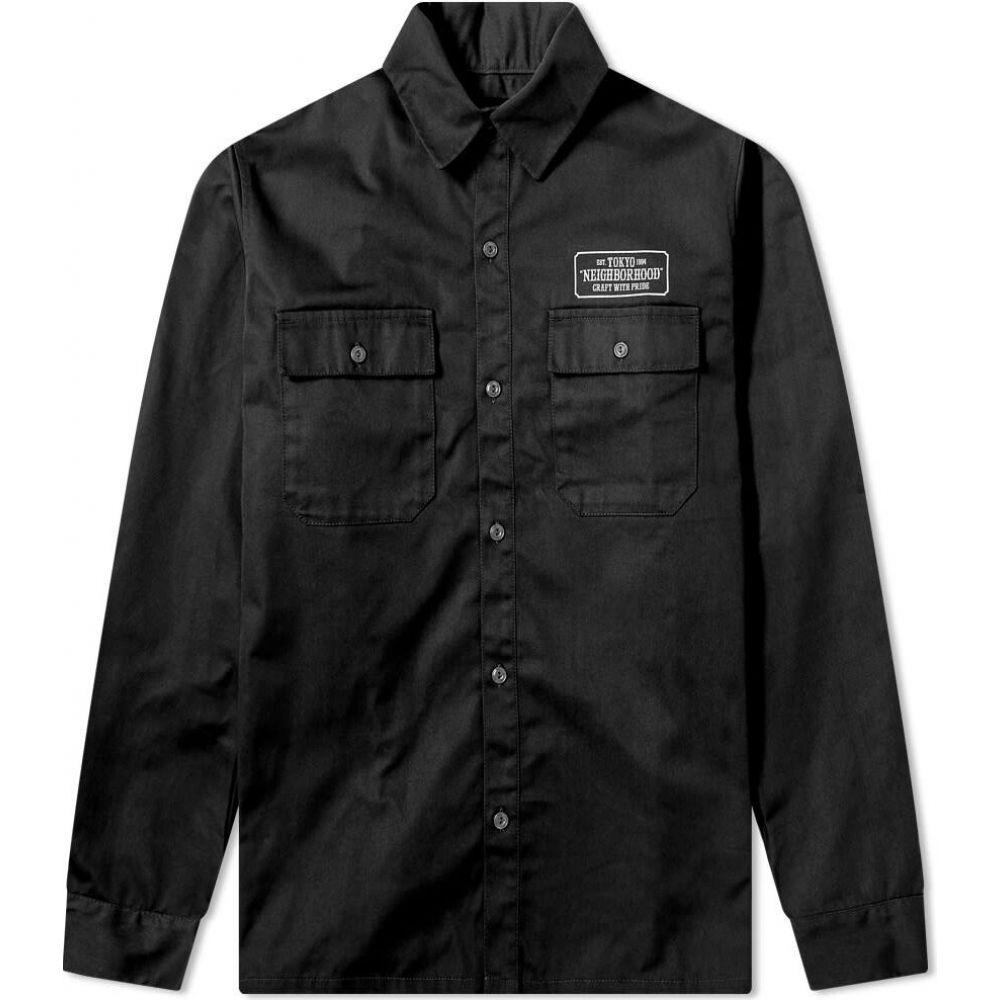 【当店限定販売】 ネイバーフッド Neighborhood メンズ トップス【Classic メンズ【Classic Work Shirt トップス】Black, 洲本市:dfc20b2e --- rishitms.com