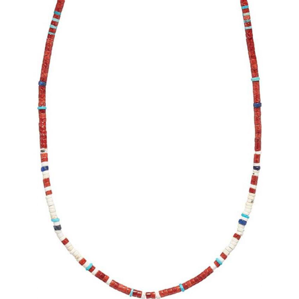新しい到着 ミキア Mikia ミキア メンズ ネックレス ジュエリー・アクセサリー【Tube Mikia Stone Necklace】Coral Necklace】Coral, トナーバッテリーのエコソル:50ed8960 --- inglin-transporte.ch