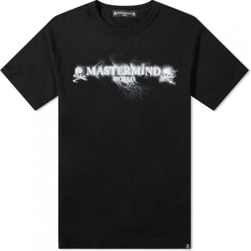 新素材新作 マスターマインド MASTERMIND WORLD Tee】Black メンズ マスターマインド WORLD Tシャツ ロゴTシャツ トップス【Sand Logo Tee】Black, 業務用ソフトの専門店ソフトジャム:f550ce95 --- adaclinik.com