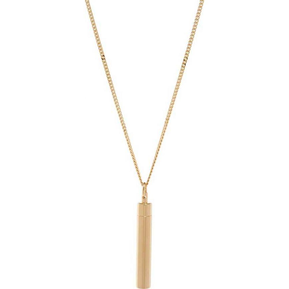 ヴェトモン メンズ ジュエリー 格安 アクセサリー 在庫あり ネックレス VETEMENTS Necklace Gold サイズ交換無料 Powder
