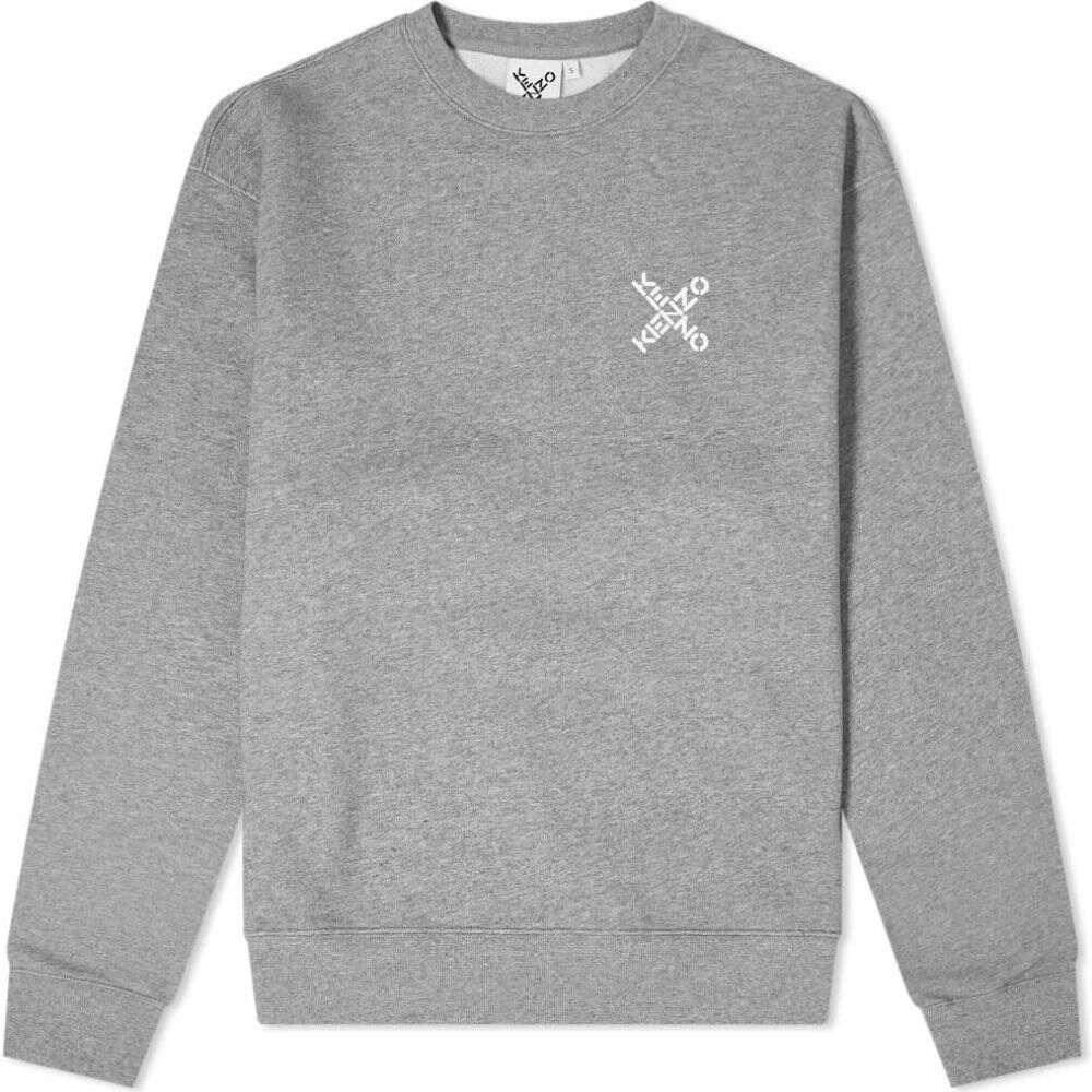 新作 ケンゾー Kenzo メンズ スウェット Grey・トレーナー スウェット・トレーナー トップス【Sport X Logo トップス【Sport Crew Sweat】Dove Grey, 秘密基地R:962a23e9 --- rishitms.com
