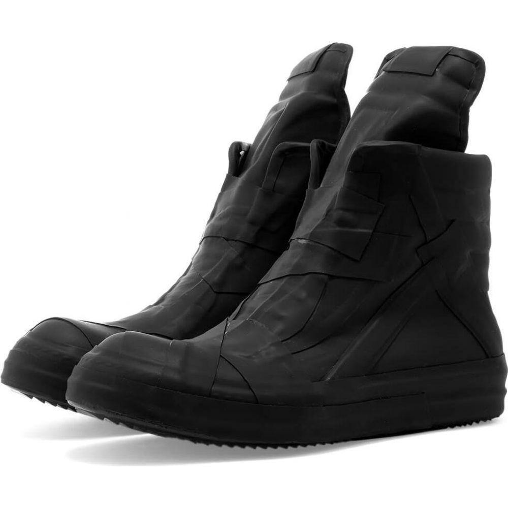 ベストセラー リック Sneaker】Black オウエンス Rick Owens メンズ スニーカー シューズ オウエンス・靴 Owens【Geobasket Classic Sneaker】Black, SKストア:f9d47be8 --- atakoyescortlar.com