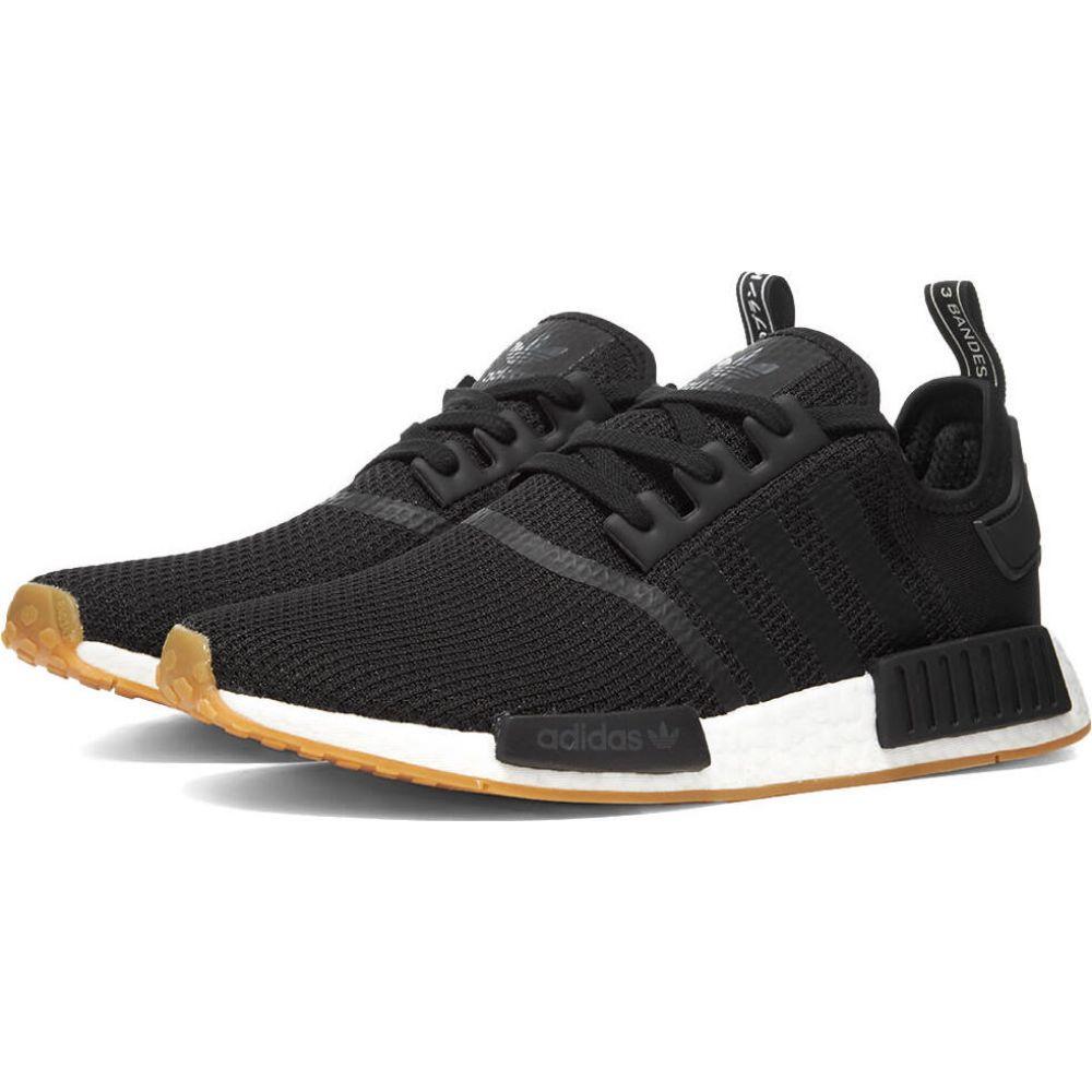 アディダス メンズ シューズ 靴 スニーカー Core 定番スタイル サイズ交換無料 お気にいる Black Adidas NMD_R1 Gum