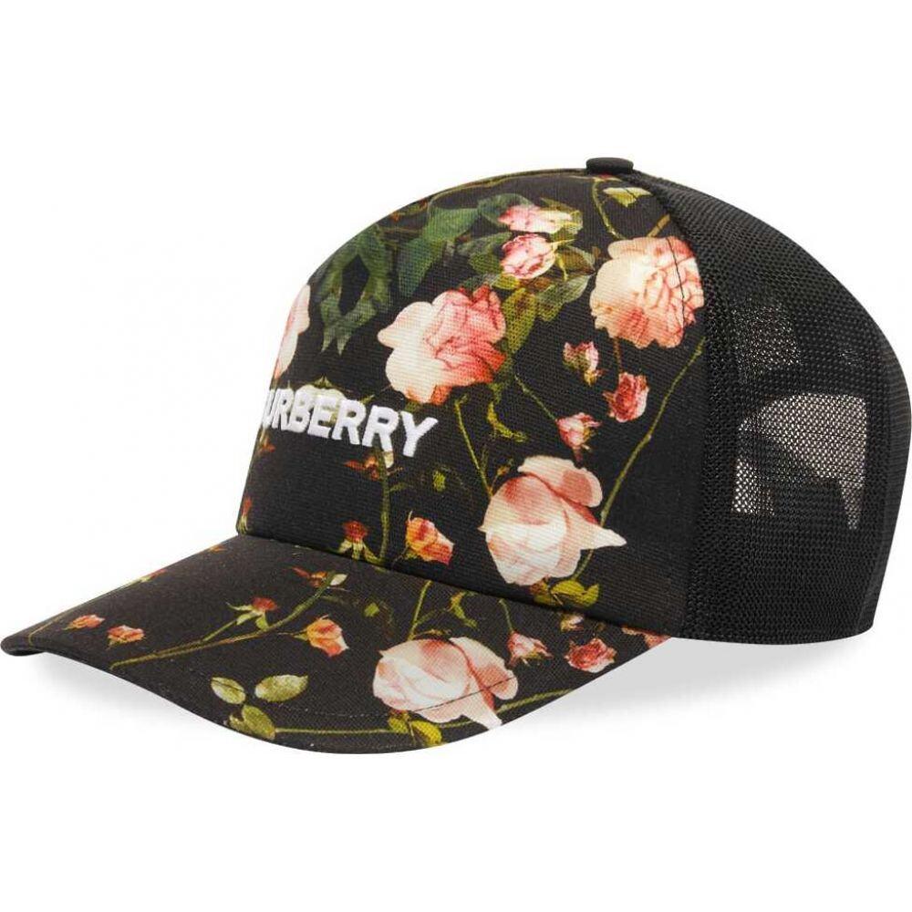 超格安一点 バーバリー Burberry メンズ キャップ 帽子【Floral Trucker Cap】Black, 【DAORA】ダオラ b93e828c