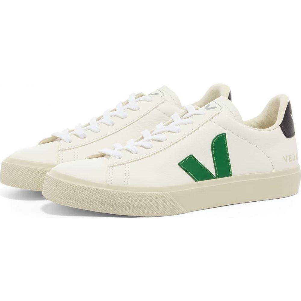生まれのブランドで ヴェジャ Veja Womens レディース スニーカー シューズ・靴【Veja Campo Sneaker】White/Green, 加津佐町 5e05df24