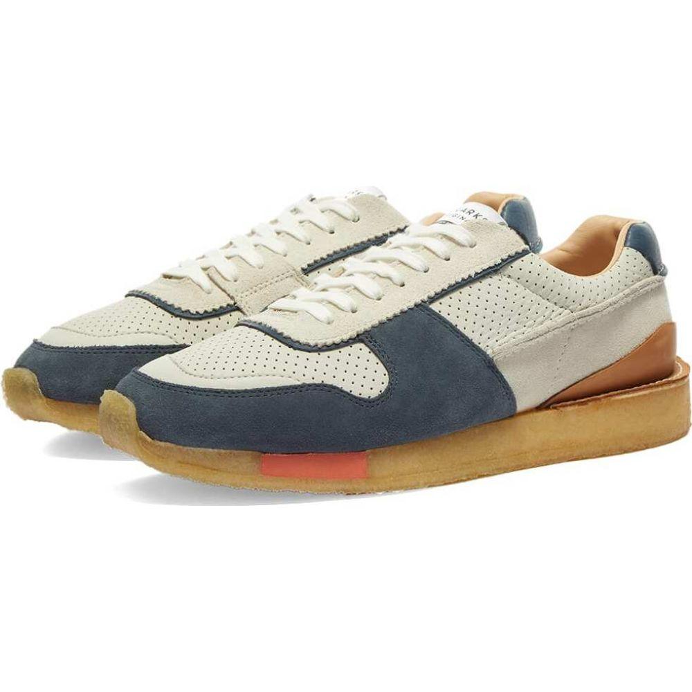 【torrun】White/Blue クラークス メンズ Clarks Originals シューズ・靴