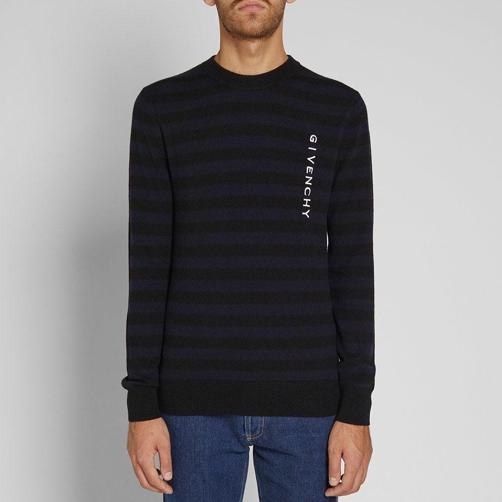 LAUREN RALPH LAUREN Women/'s Black Two-tone Rib-knit Crewneck Sweater Top TEDO