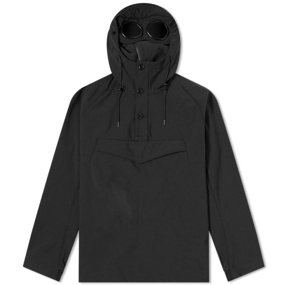 シーピーカンパニー C.P. Company メンズ アウター【Popover Goggle Soft Shell Smock】Black