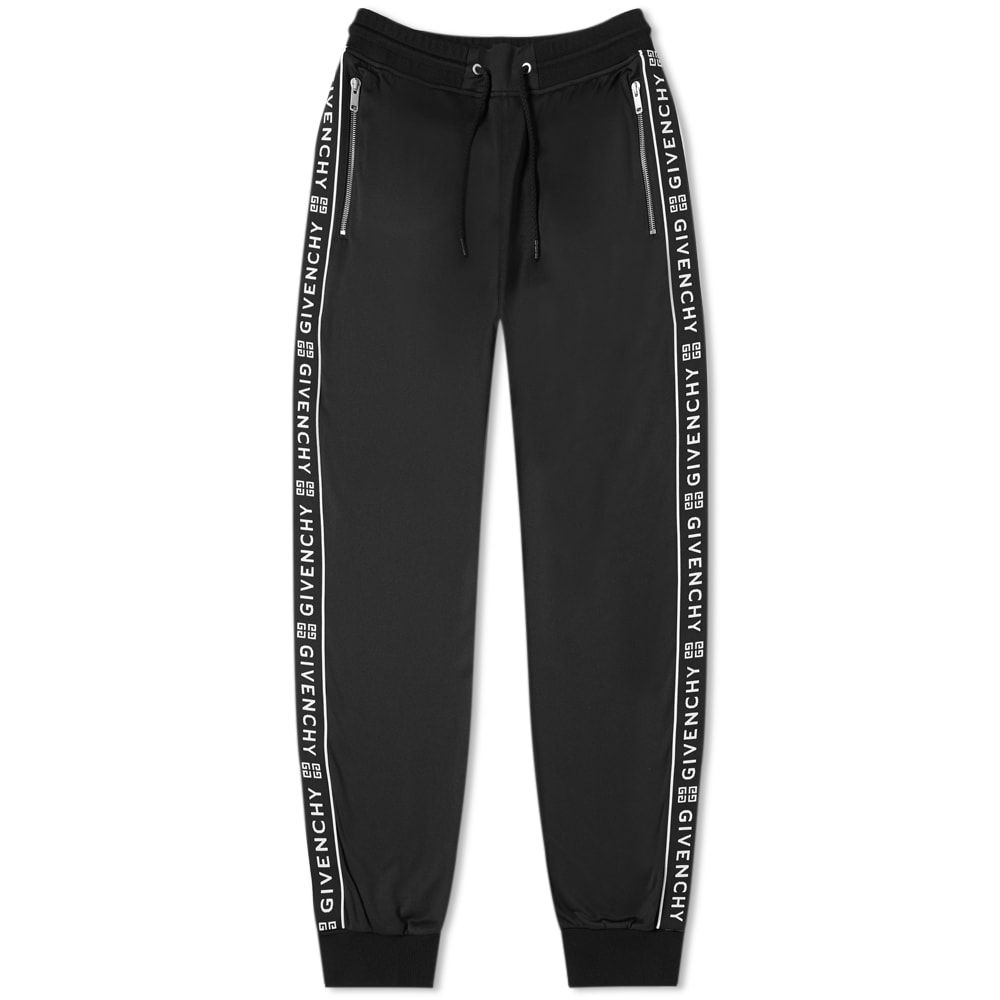 ジバンシー Givenchy メンズ スウェット・ジャージ ボトムス・パンツ【taped track pant】Black