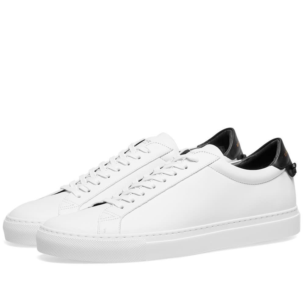 ジバンシー Givenchy メンズ シューズ・靴 スニーカー【Urban Street Low Sneaker】White/Black