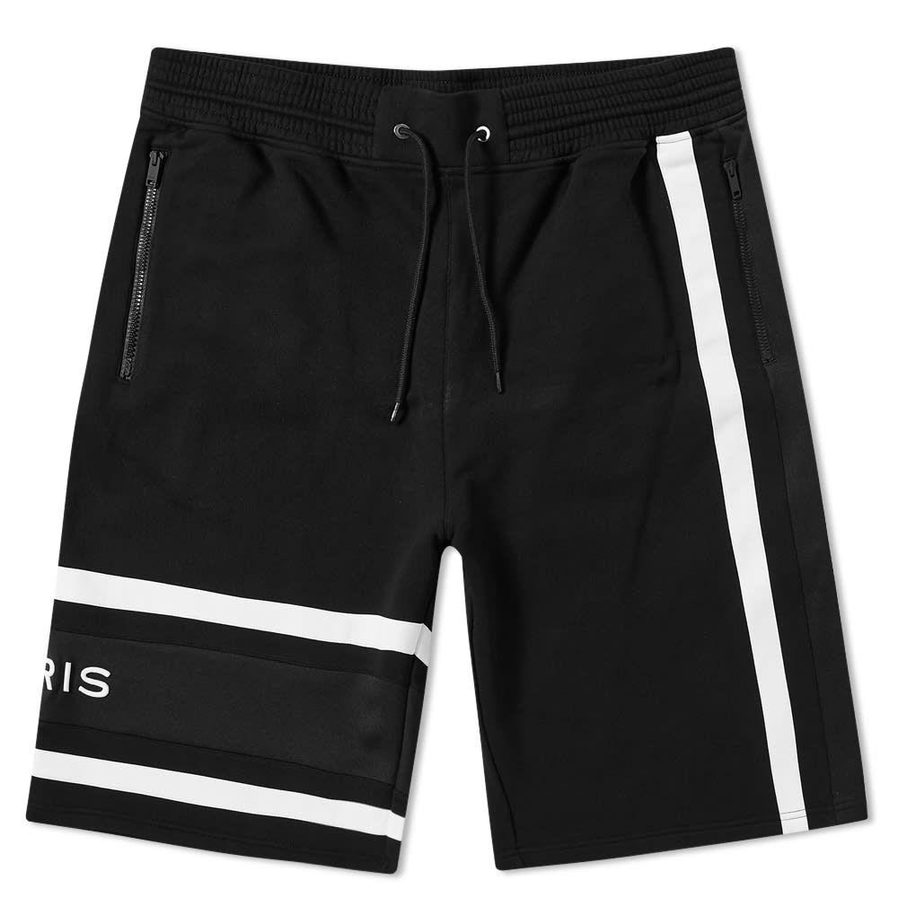 ジバンシー Givenchy メンズ ショートパンツ ボトムス・パンツ【band logo sweat shorts】Black/White