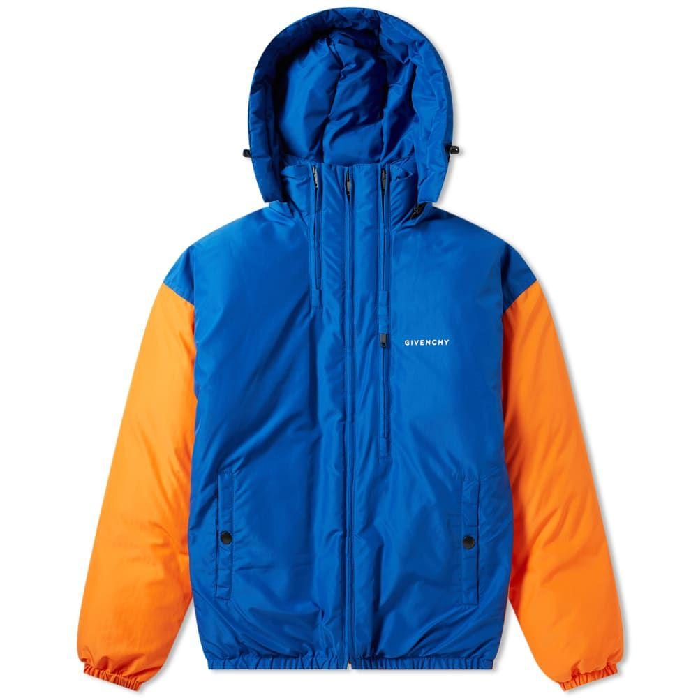 ジバンシー Givenchy メンズ ダウン・中綿ジャケット アウター【ripstop puffer jacket】Electric Blue