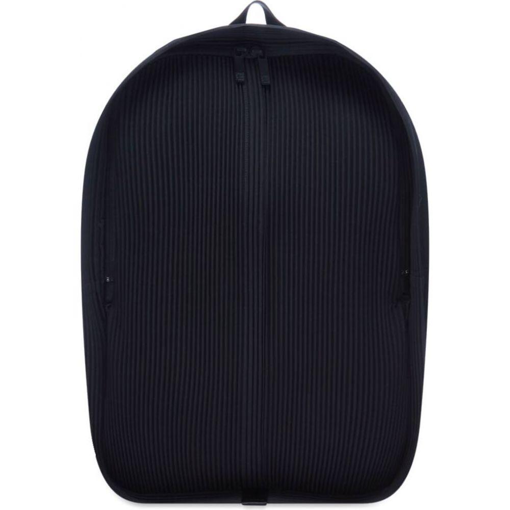 品質は非常に良い イッセイ ミヤケ Homme Plisse Issey Miyake メンズ バックパック・リュック デイパック バッグ【pleated daypack】Black/Whte, しんくぁ 5903cae7