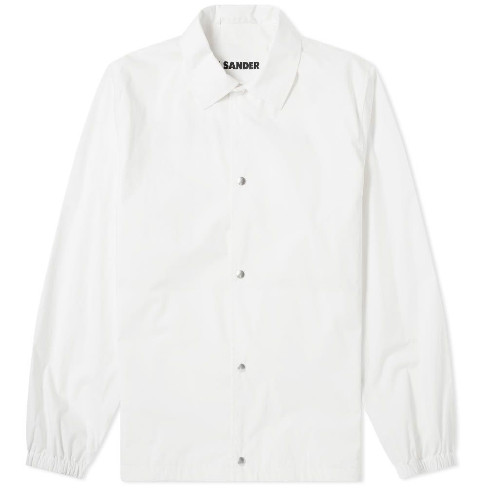 ジル サンダー Jil Sander メンズ ジャケット コーチジャケット アウター【jil sander+ logo print coach jacket】Porcelain