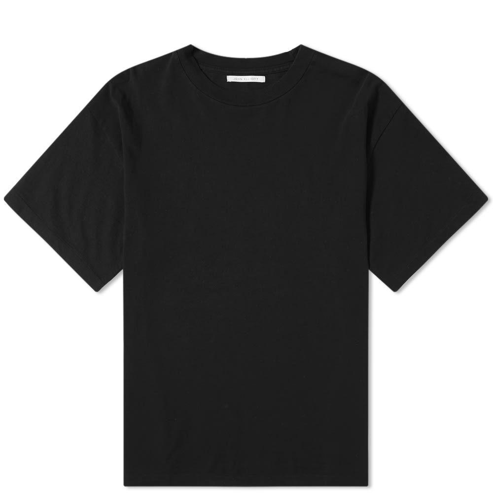 ジョン エリオット John Elliott メンズ Tシャツ トップス【university tee】Black