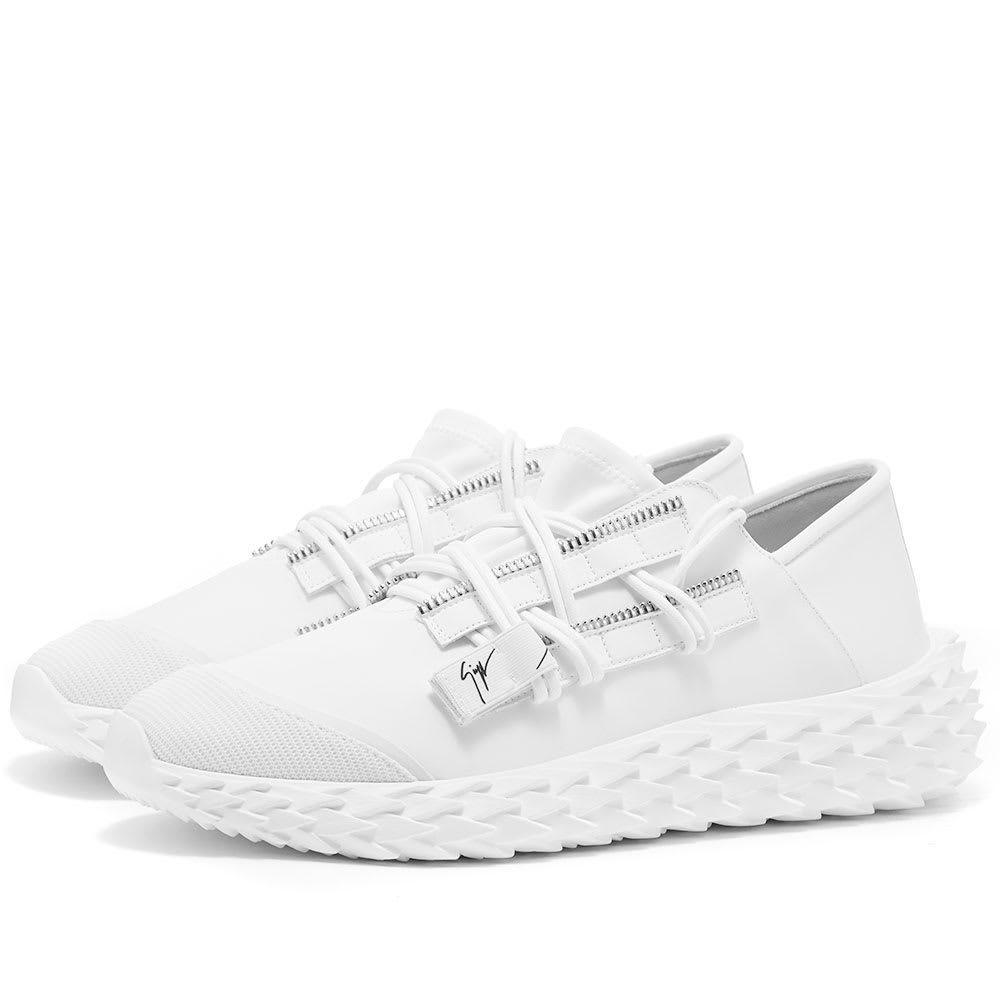 ジュゼッペ ザノッティ Giuseppe Zanotti メンズ スニーカー ローカット シューズ・靴【low top urchin sneaker】White