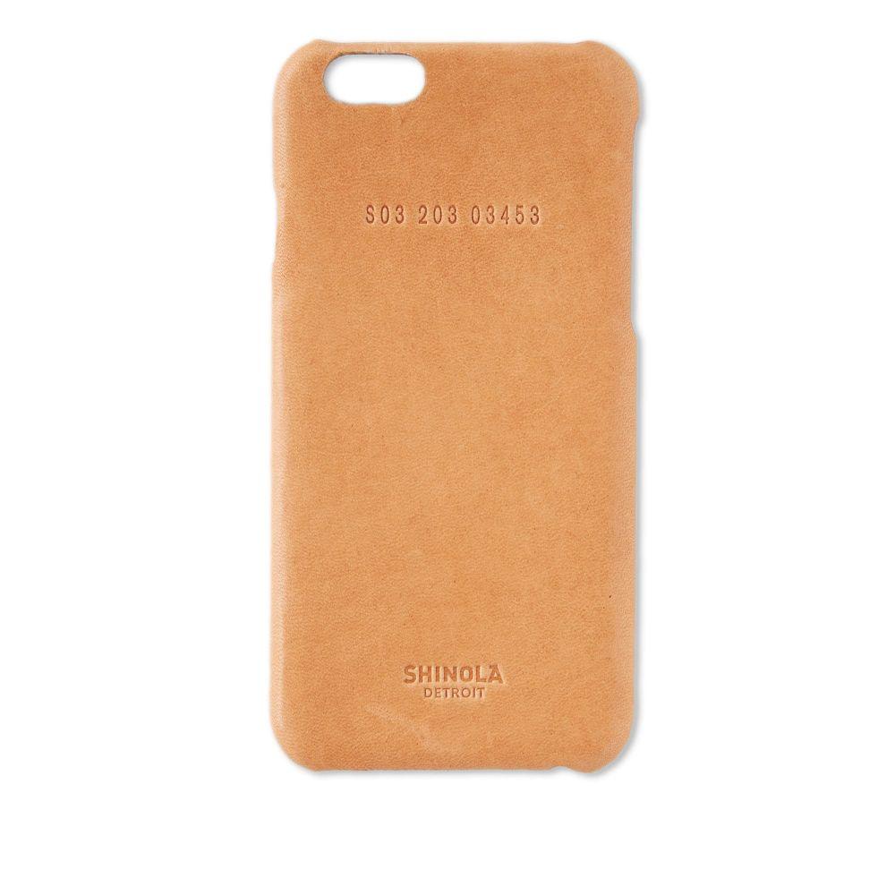シャイノーラ Shinola メンズ iPhone (6/6s)ケース【iPhone 6 Case】Natural