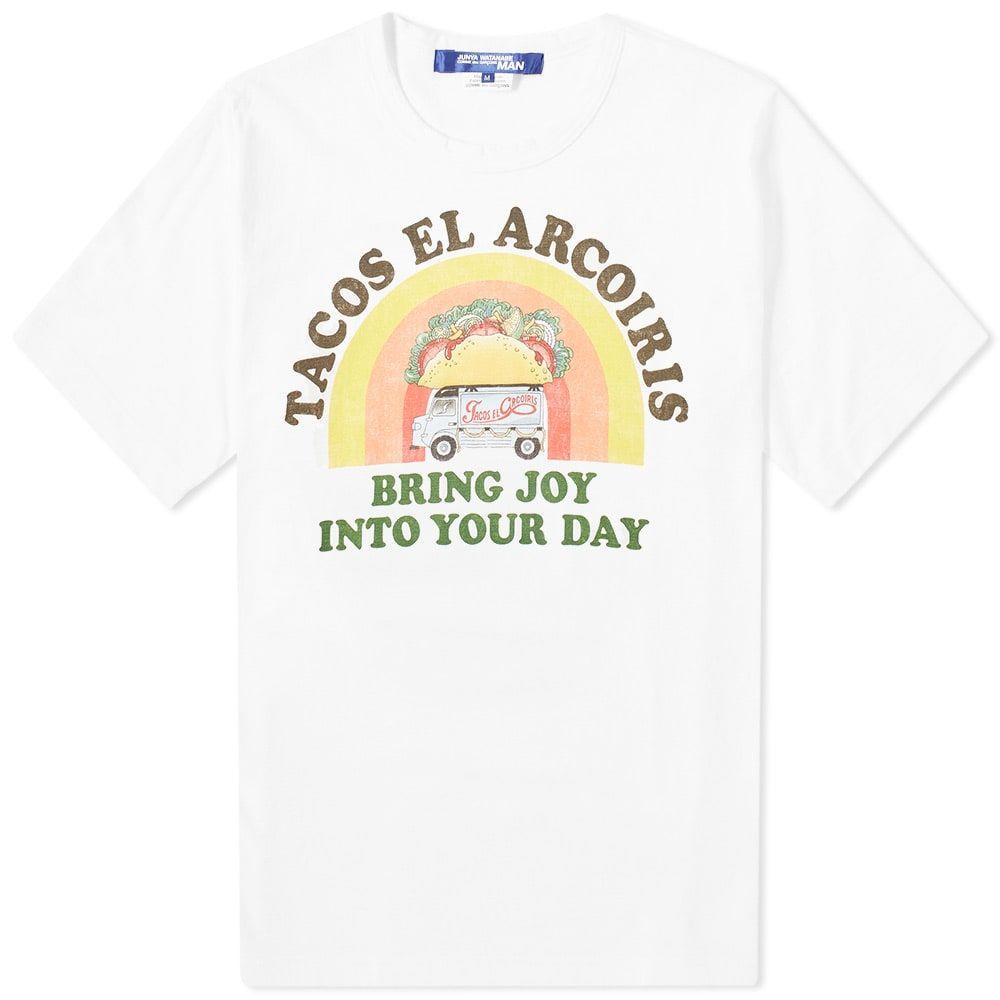 ジュンヤ ワタナベ Junya Watanabe MAN メンズ Tシャツ トップス【tacos tee】White