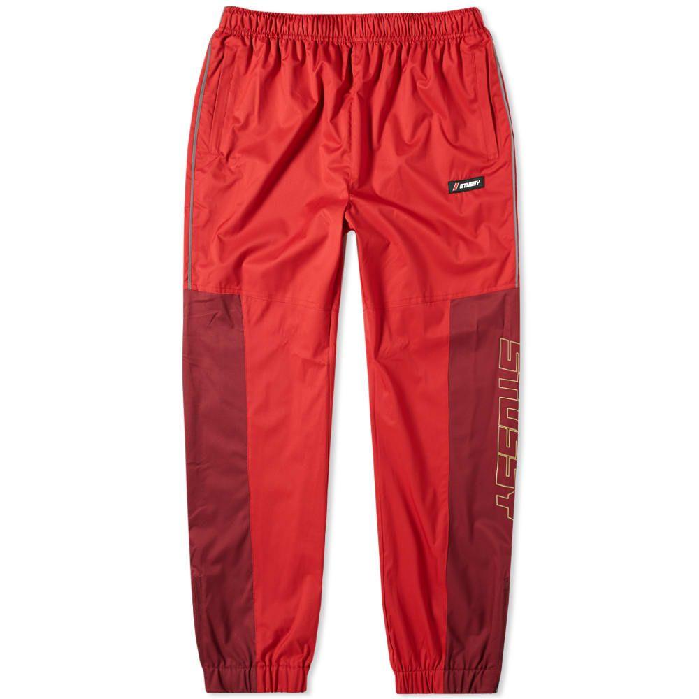 ステューシー Stussy メンズ スウェット・ジャージ ボトムス・パンツ【alpine pant】Red