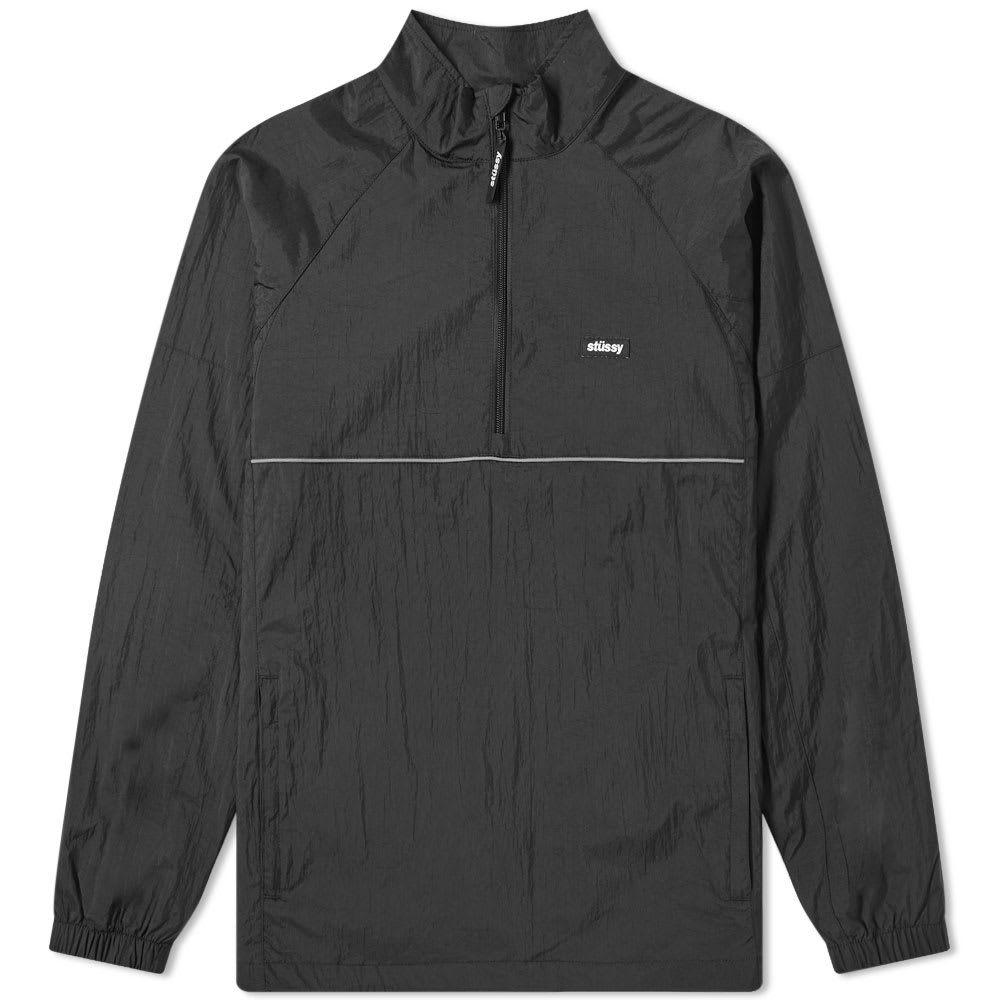 ステューシー Stussy メンズ ジャケット アウター【sport pullover jacket】Black
