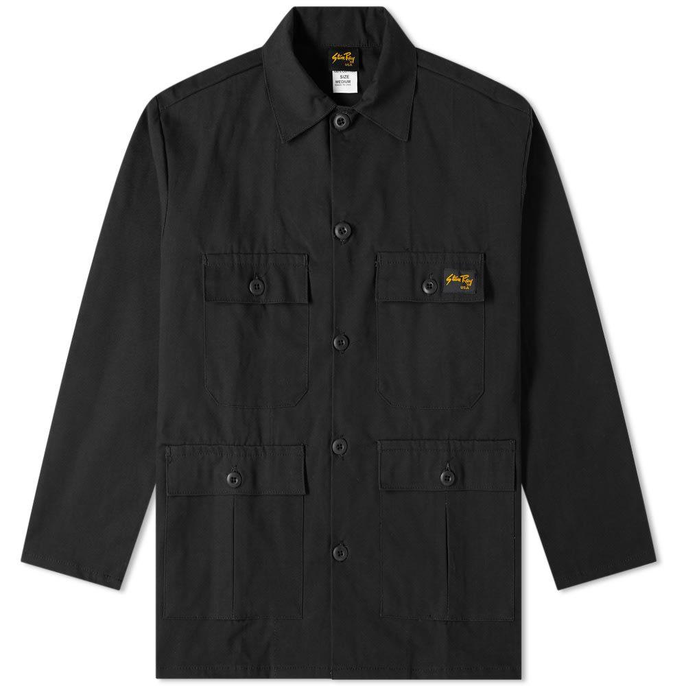 スタンレー 品質検査済 バースデー 記念日 ギフト 贈物 お勧め 通販 メンズ アウター ジャケット Black Ripstop サイズ交換無料 Four Jacket Pocket Ray Stan