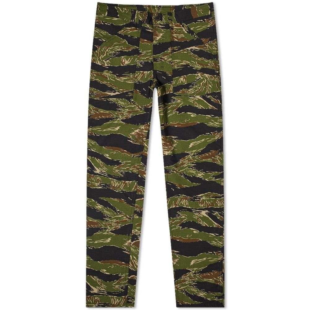 スタンレー Stan Ray メンズ ボトムス・パンツ チノパン【Taper Fit 4 Pocket Fatigue Pant】Green Tiger Stripe