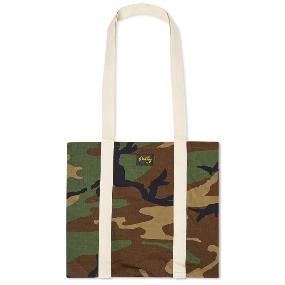 スタンレー Stan Ray メンズ バッグ トートバッグ【Tote Bag】Woodland Ripstop