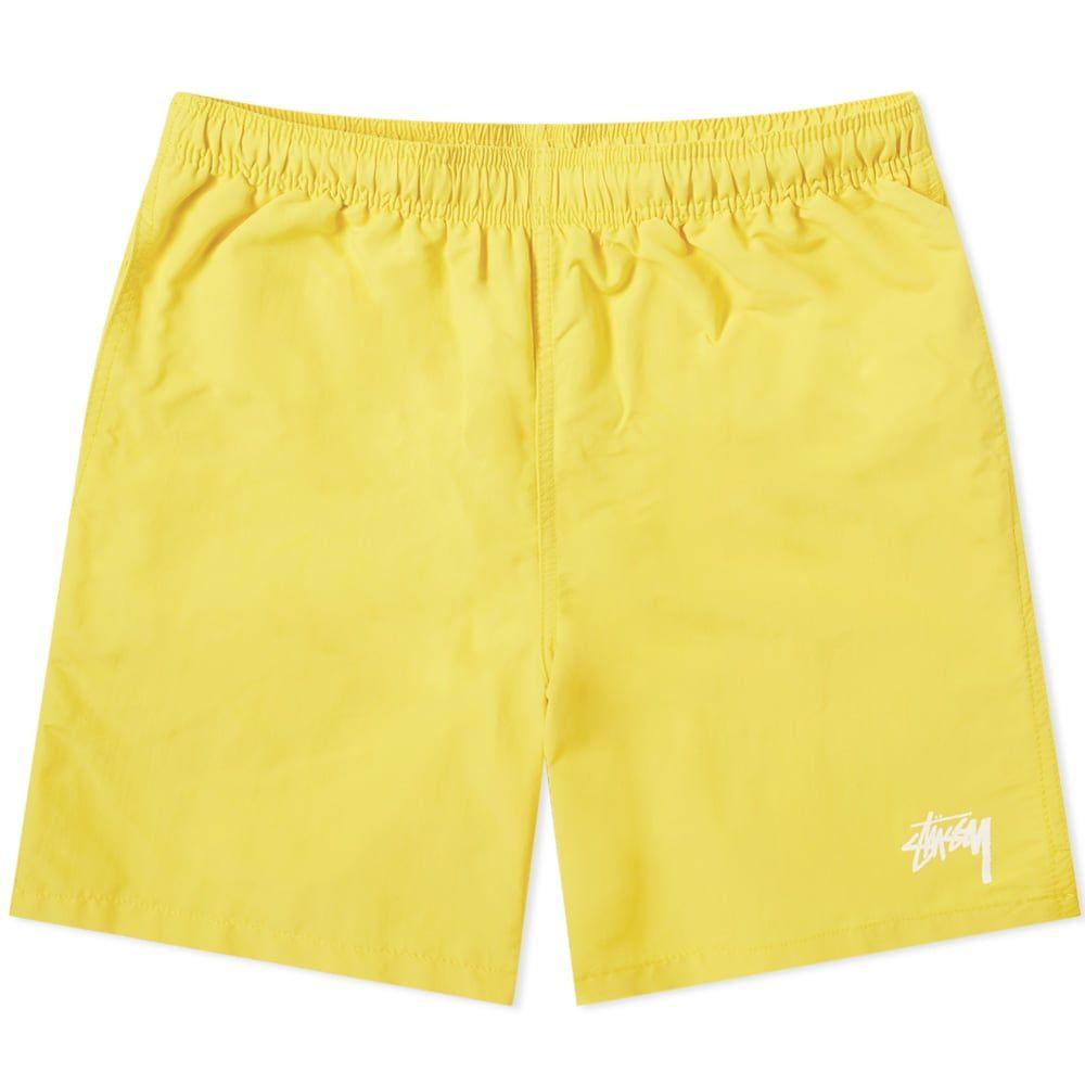 ステューシー Stussy メンズ 海パン 水着・ビーチウェア【stock water short】Yellow