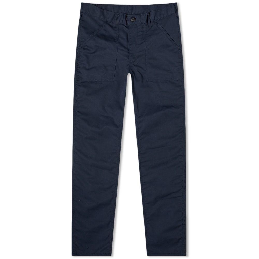 スタンレー Stan Ray メンズ ボトムス・パンツ チノパン【Taper Fit 4 Pocket Fatigue Pant】Navy Twill