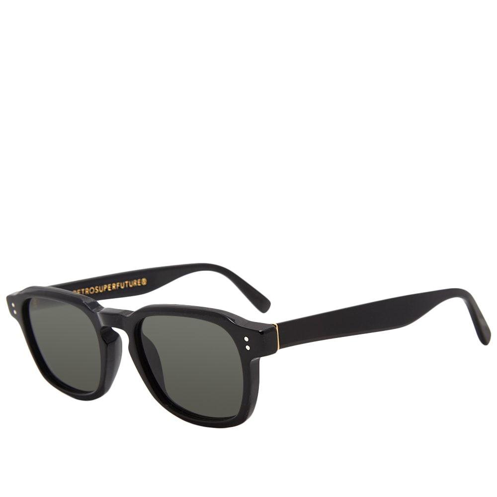 スーパー SUPER メンズ メガネ・サングラス【by RETROFUTURE Luce Sunglasses】Black