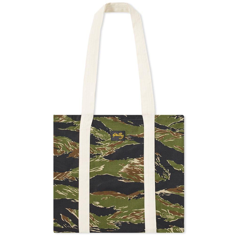 スタンレー Stan Ray メンズ バッグ トートバッグ【Tote Bag】Green Tiger Stripe