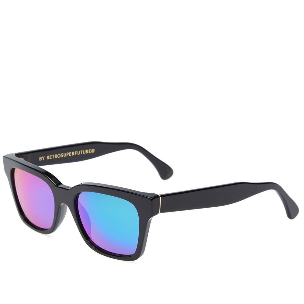 スーパー SUPER メンズ メガネ・サングラス【by RETROFUTURE America Cove Sunglasses】Black