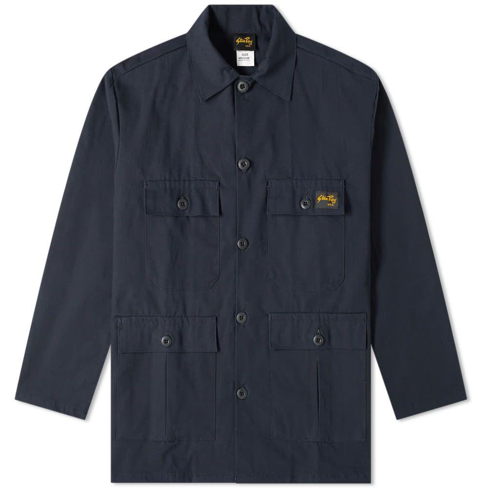 スタンレー Stan Ray メンズ アウター ジャケット【Four Pocket Jacket】Navy Ripstop