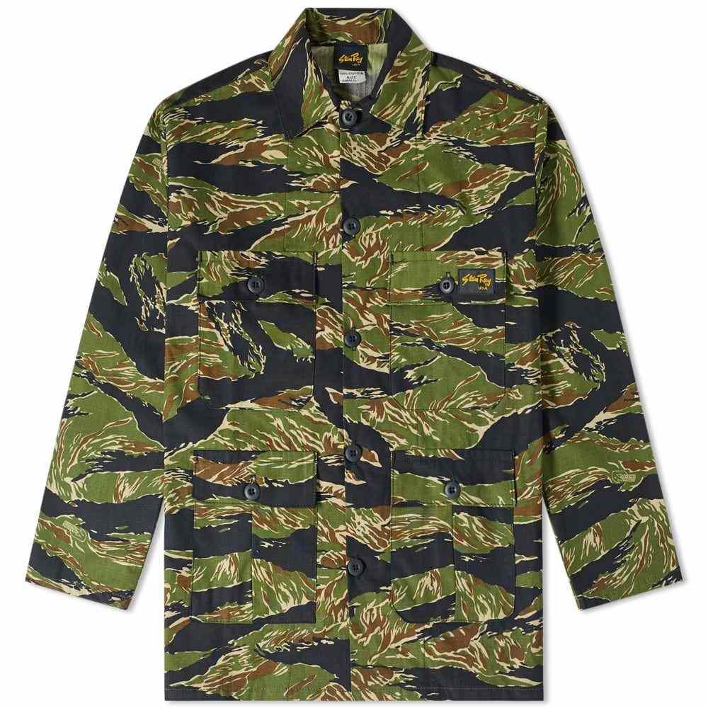 <title>スタンレー メンズ アウター ジャケット Tiger Stripe Ripstop サイズ交換無料 新着 Stan Ray Four Pocket Jacket</title>