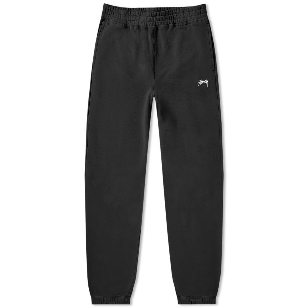 ステューシー Stussy メンズ スウェット・ジャージ ボトムス・パンツ【stock fleece pant】Black