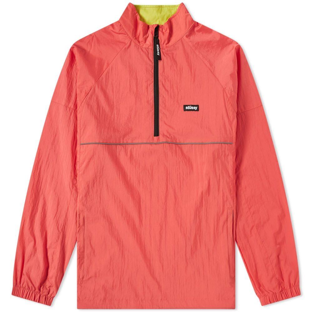 ステューシー Stussy メンズ ジャケット アウター【sport pullover jacket】Red