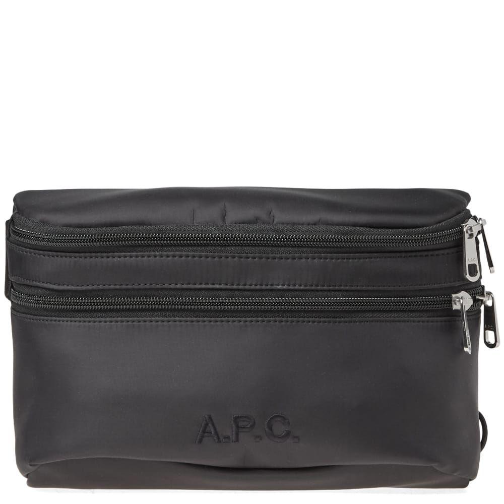 アーペーセー A.P.C. メンズ ボディバッグ・ウエストポーチ バッグ【raphael waist bag】Black