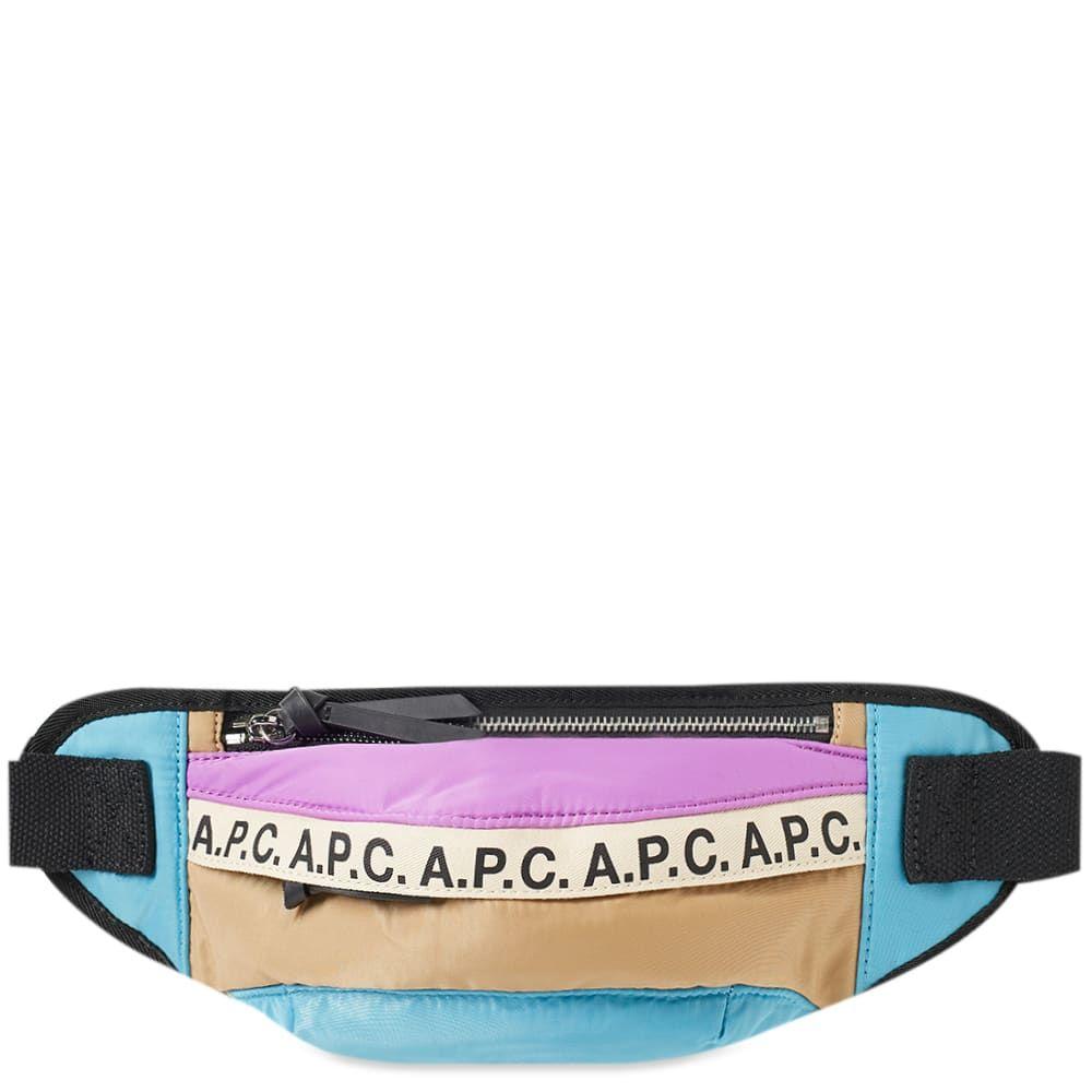 アーペーセー A.P.C. メンズ ボディバッグ・ウエストポーチ バッグ【lucille tape logo waist bag】Multi