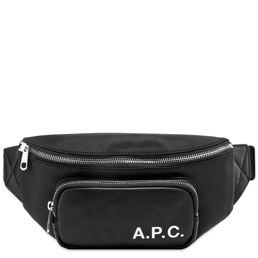 アーペーセー A.P.C. メンズ ボディバッグ・ウエストポーチ バッグ【camden waist bag】Black