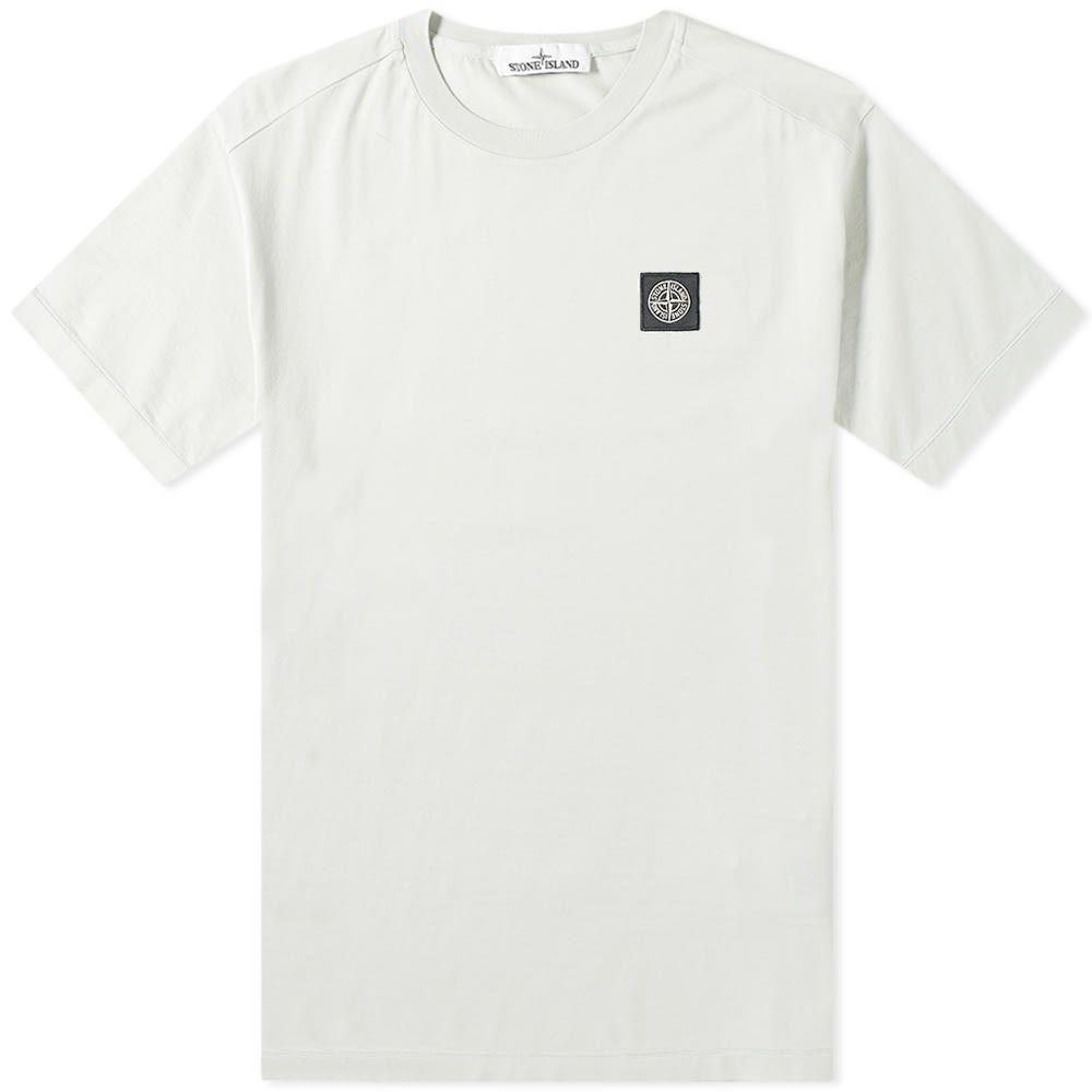 ストーンアイランド Stone Island メンズ Tシャツ ロゴTシャツ トップス【patch logo tee】Polvere