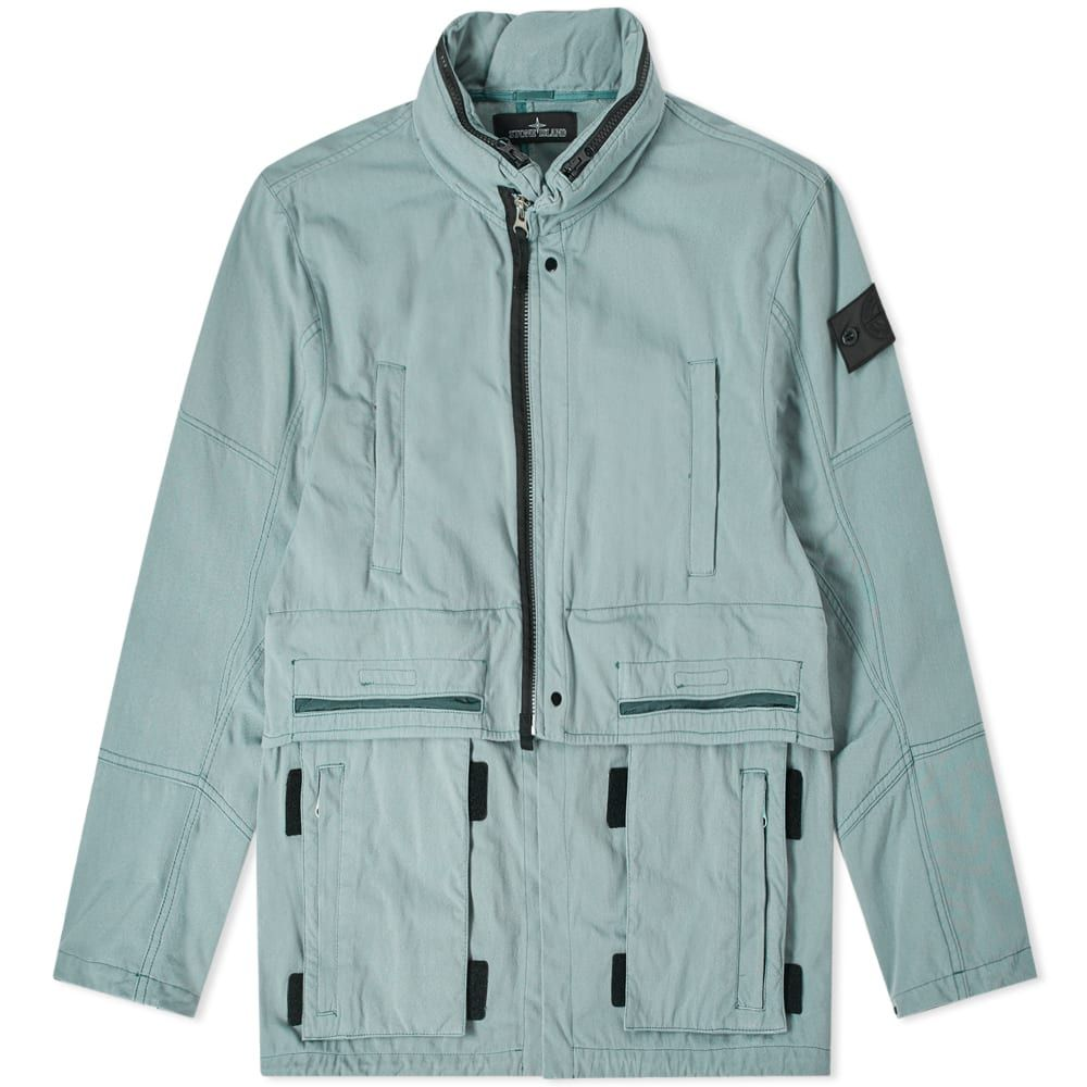 ストーンアイランド Stone Island Shadow Project メンズ ジャケット アウター【hollow core concealed hood jacket】Salvia