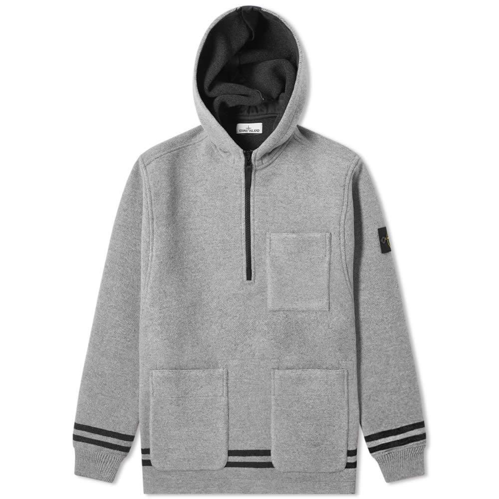 ストーンアイランド Stone Island メンズ ジャケット ブランケット アウター【blanket popover hooded jacket】Polvere