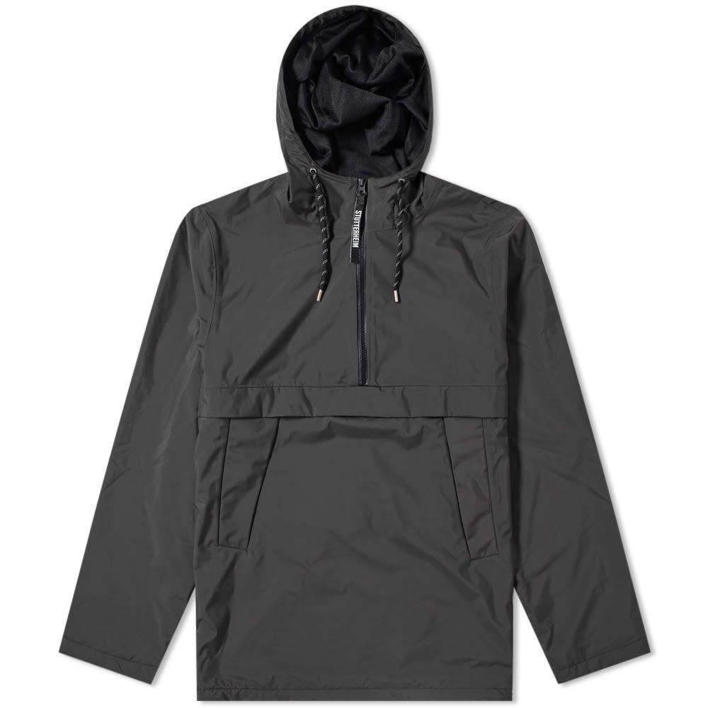 ストゥッテルハイム Stutterheim メンズ ジャケット アウター【kilsmo popover hooded jacket】Black