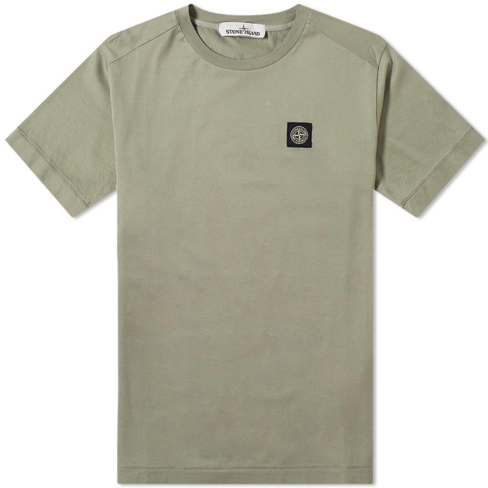 ストーンアイランド Stone Island メンズ Tシャツ ロゴTシャツ トップス【patch logo tee】Fango