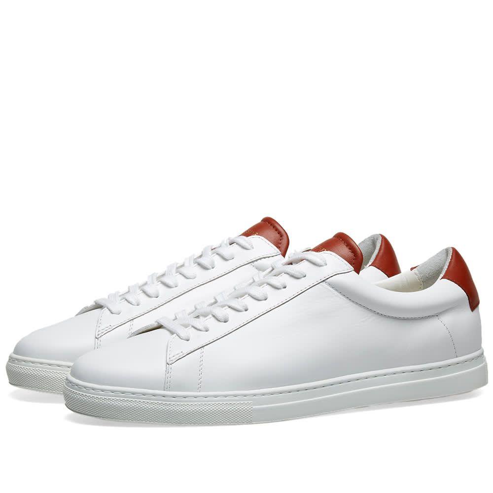 ゼスパ Zespa メンズ シューズ・靴 スニーカー【ZSP4 APLA Sneaker】White/Candy