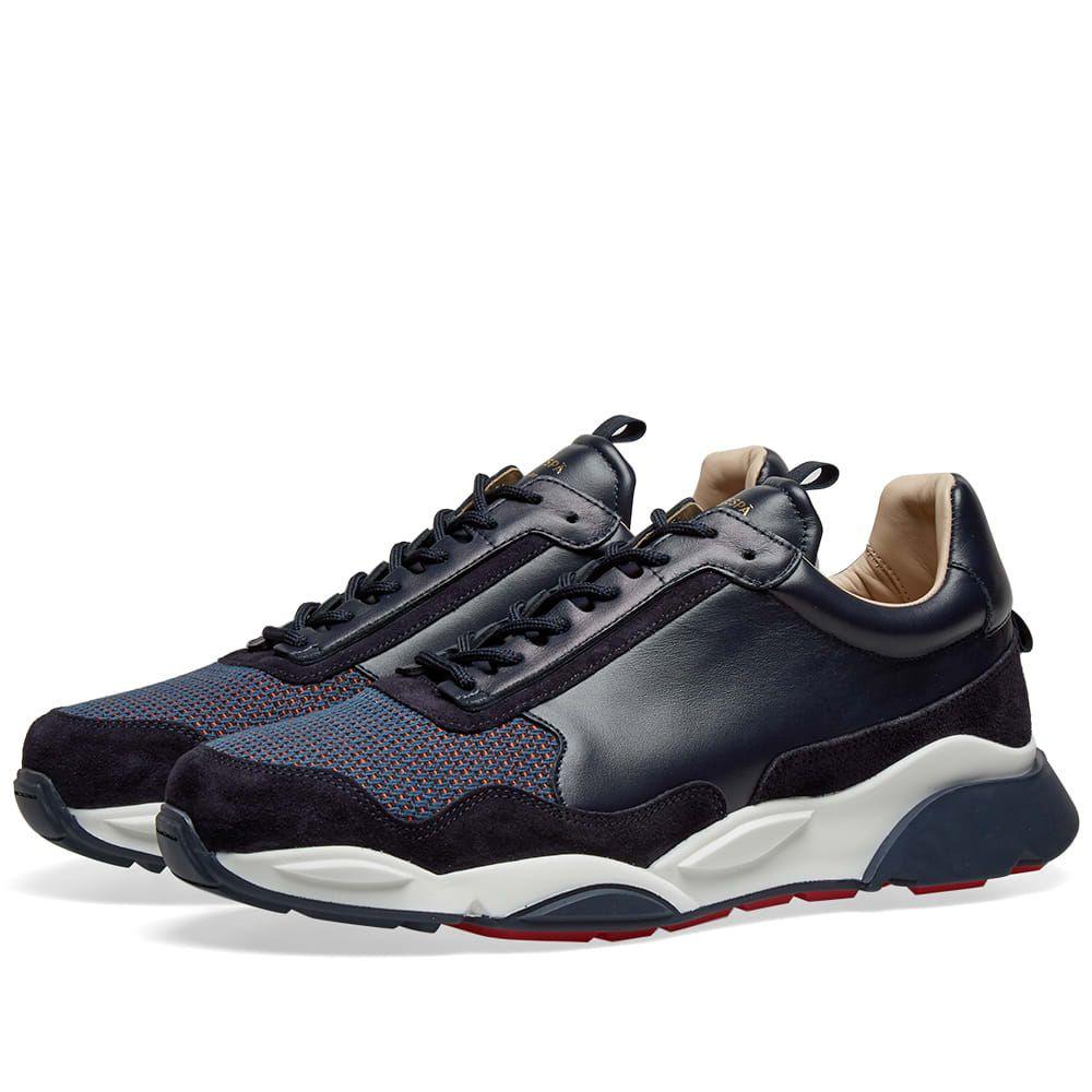 ゼスパ Zespa メンズ シューズ・靴 スニーカー【ZSP7 Canvas Sneaker】Navy