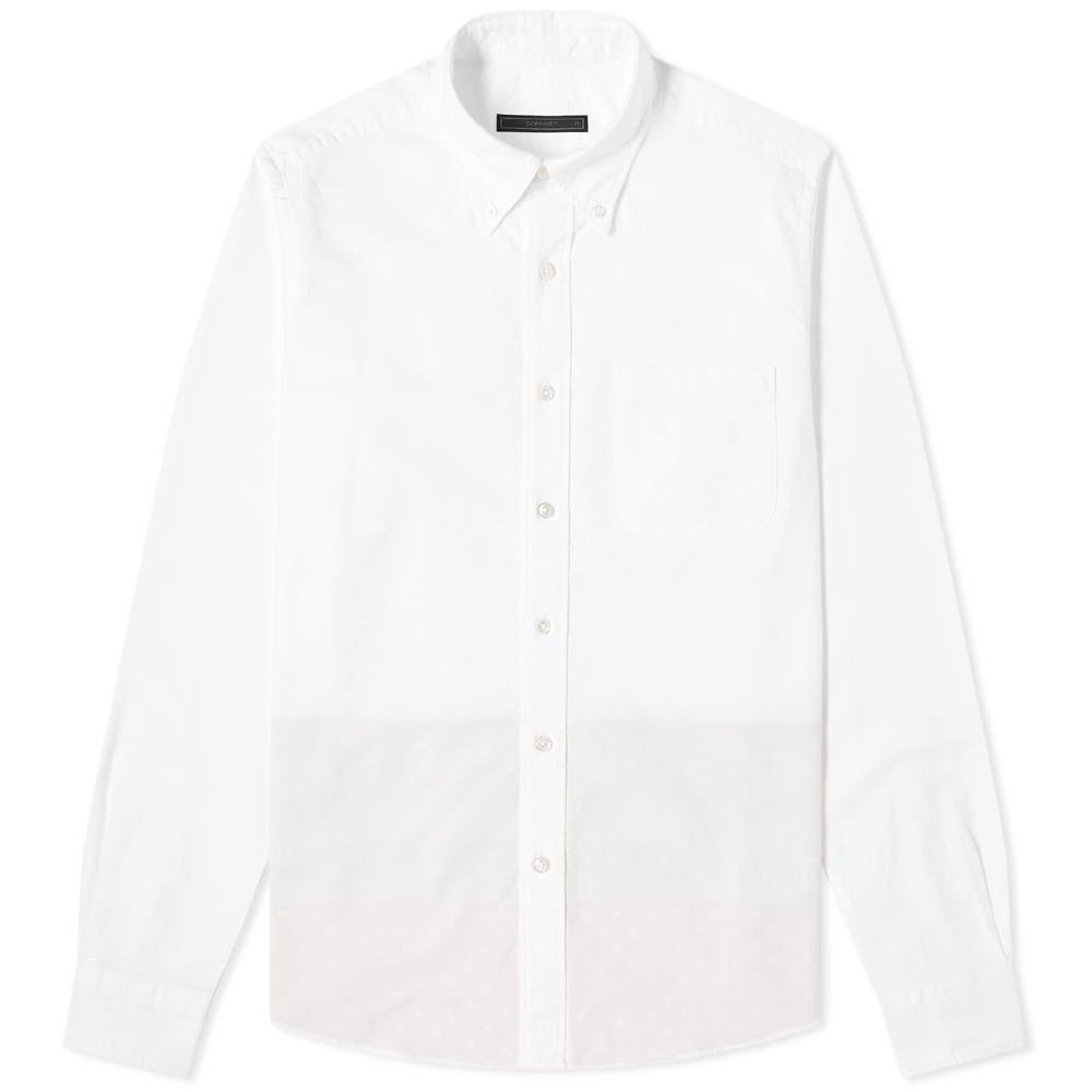 ソフネット SOPHNET. メンズ シャツ トップス【back panel shirt】White